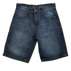 4/$25 Free Planet Blue Jean Shorts Big Boys